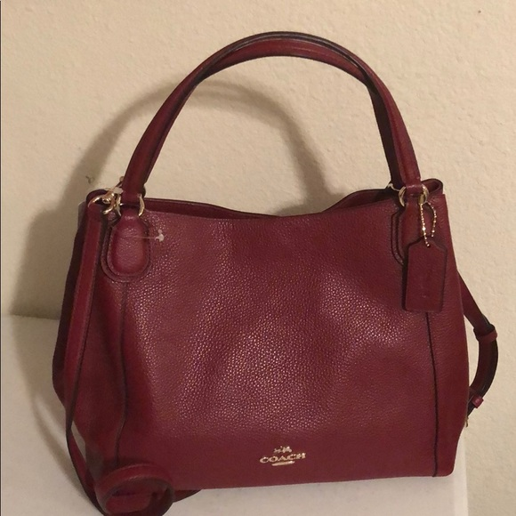 a few days away highly coveted range of buy popular NWT COACH EDIE SHOULDER BAG 28 F35983 NWT